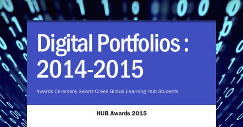 Digital Portfolios : 2014-2015