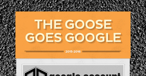 The Goose Goes Google