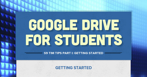 Google Drive for Students