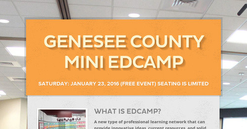 Genesee County Mini EdCamp