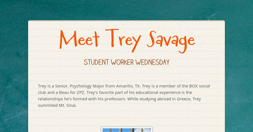 Meet Trey Savage