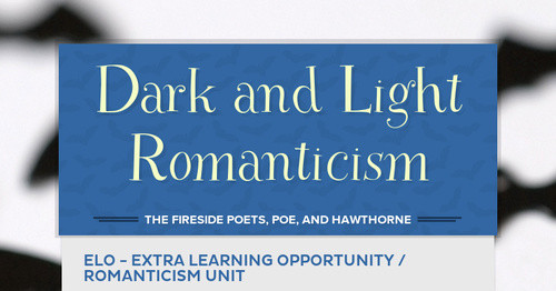Dark and Light Romanticism