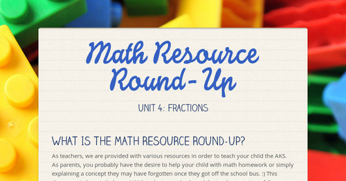 Math Resource Round-Up