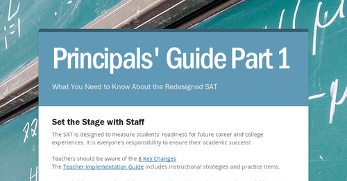 Principals' Guide Part 1