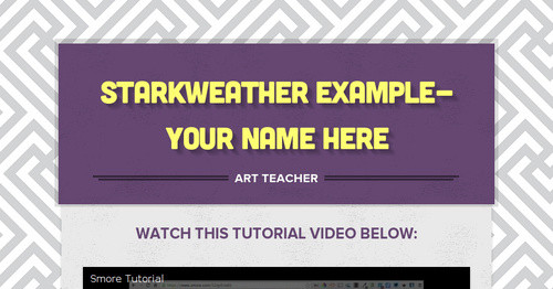 Starkweather Example-Your name here