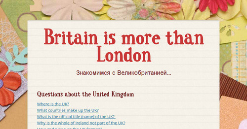 Britain is more than London