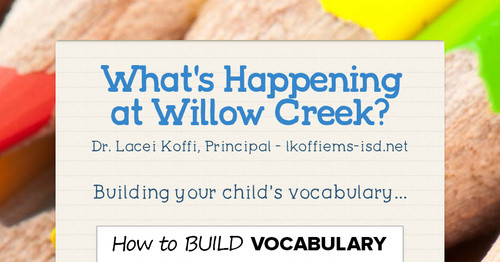 What's Happening at Willow Creek?