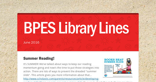 BPES Library Lines
