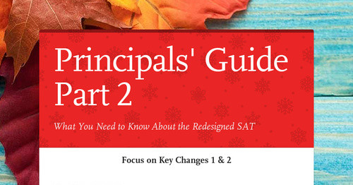 Principals' Guide Part 2