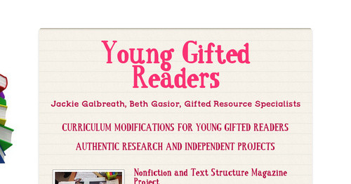 Young Gifted Readers
