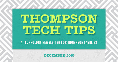 Thompson Tech Tips