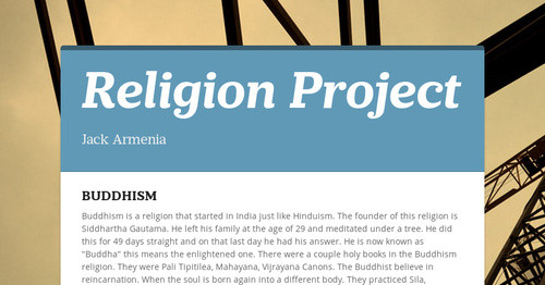 Religion Project