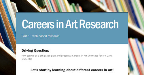 Careers in Art Research