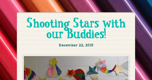 Shooting Stars with our Buddies!