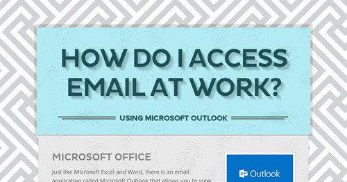 How do I access email at work?