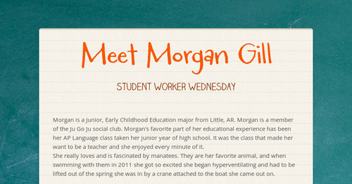 Meet Morgan Gill
