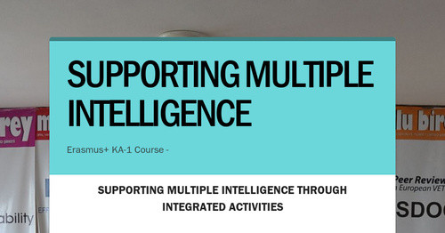 SUPPORTING MULTIPLE INTELLIGENCE