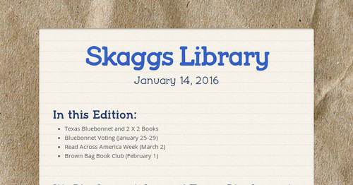 Skaggs Library