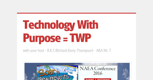 Technology With Purpose = TWP