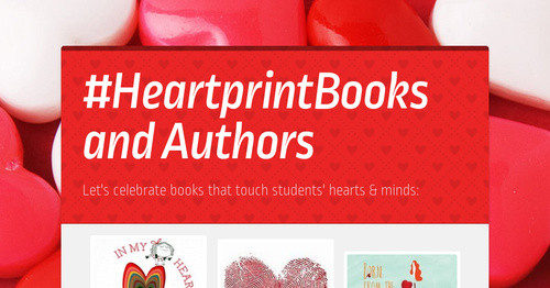 #HeartprintBooks and Authors
