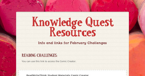 Knowledge Quest Resources