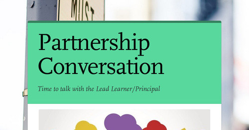 Partnership Conversation