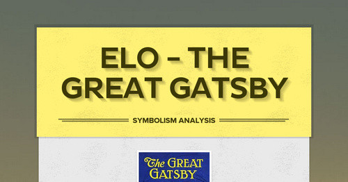ELO - The Great Gatsby