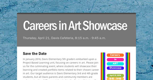 Careers in Art Showcase