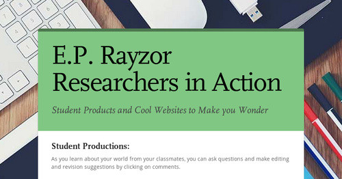 E.P. Rayzor Researchers in Action
