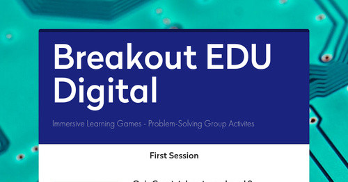Breakout EDU Digital