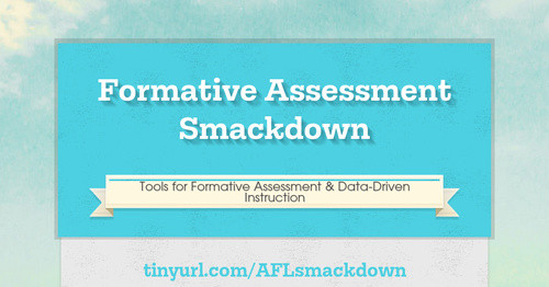 Formative Assessment Smackdown
