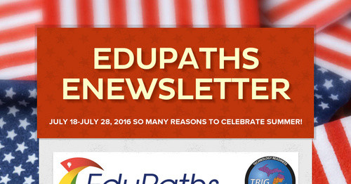 EduPaths eNewsletter