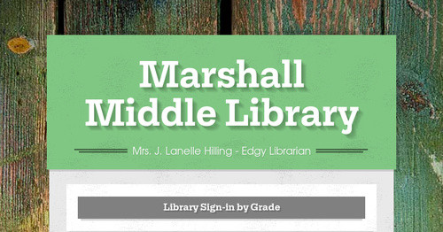 Marshall Middle Library