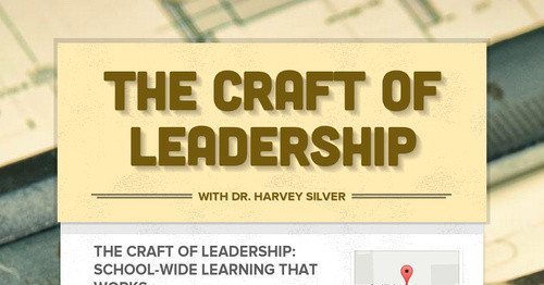 The CRAFT of Leadership