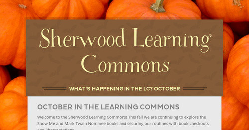 Sherwood Learning Commons
