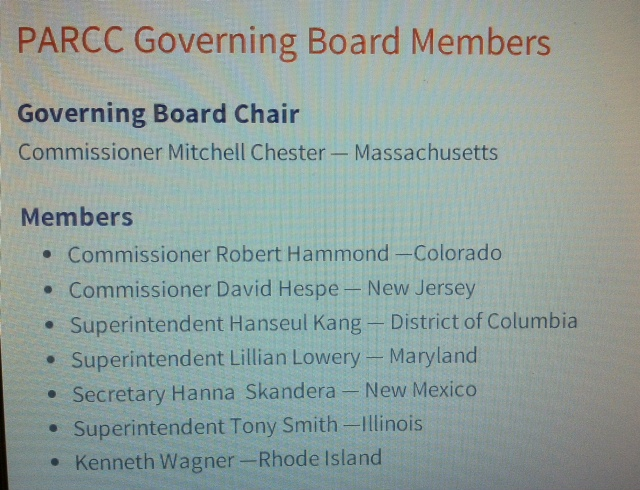 Hanna Skandera Is Now PARCC Chair. There Was No Press Release.