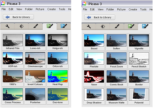 Getting to Know Picasa - a Free Image Editor and Browser by Google