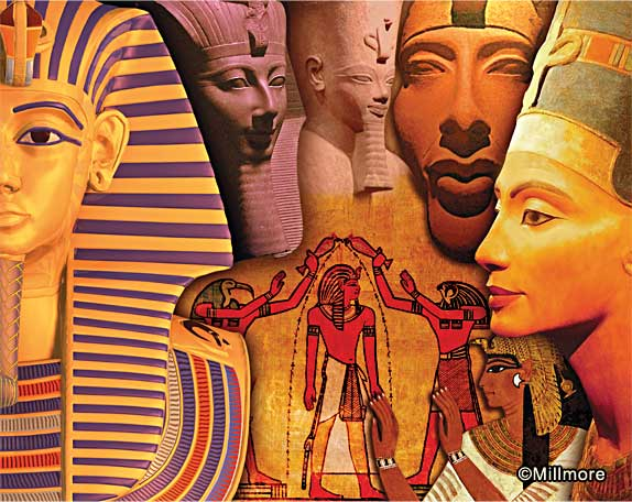 Ancient Egyptian Kings Queens