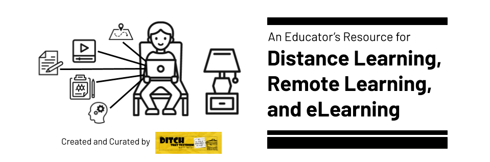 Remote Learning - Ditch That Textbook