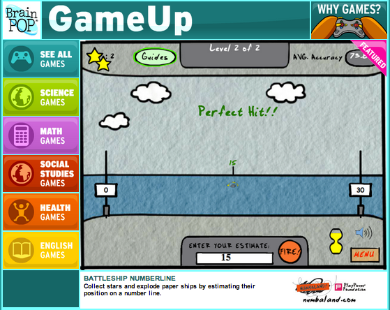 GameUp Games Overview Screencast | BrainPOP Educators