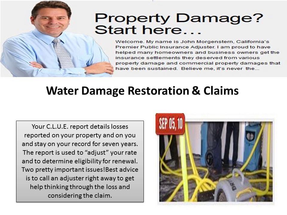Priority Adjusters Inc water damage los angeles ca