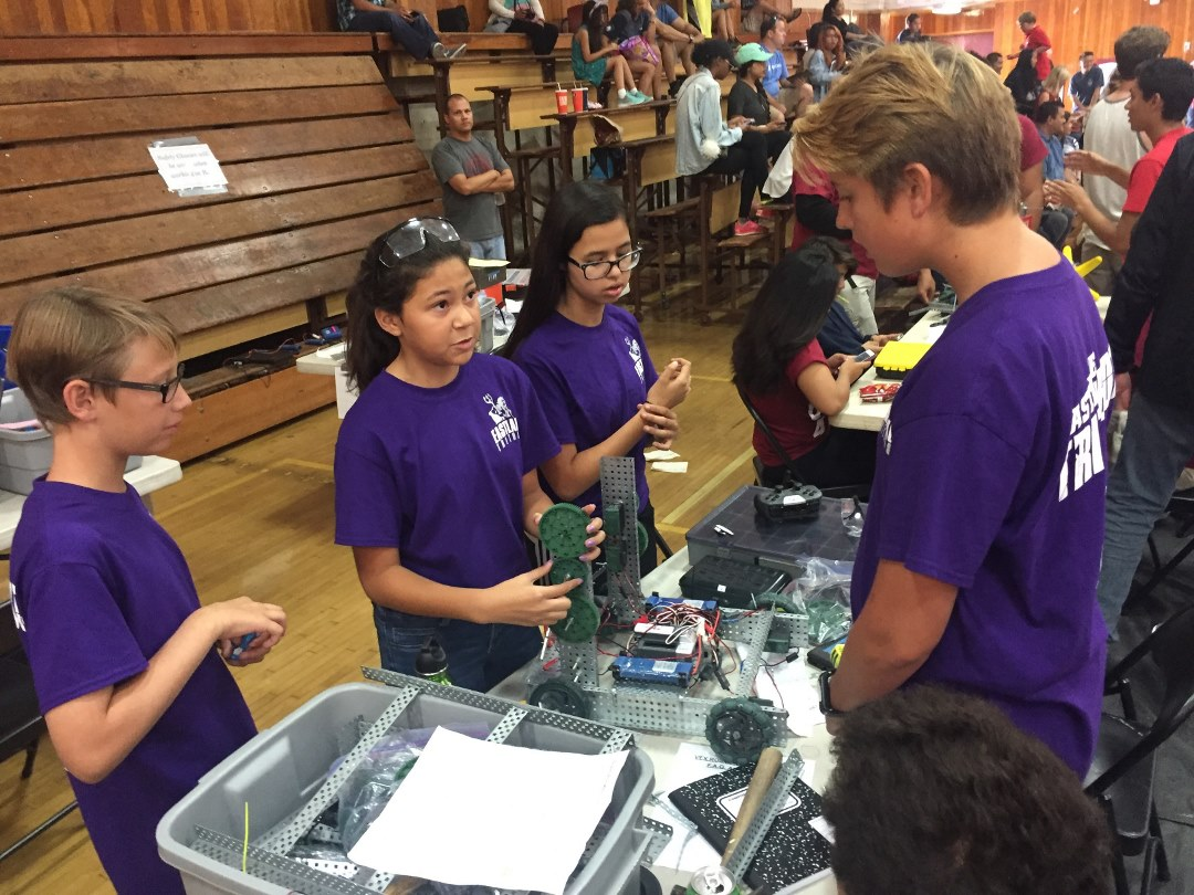 2016-17 Sweetwater Union HSD VEX Robotics League