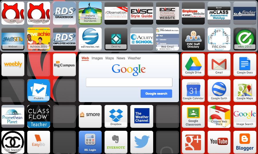A Symbaloo to Organize You! | EVSC ICATS