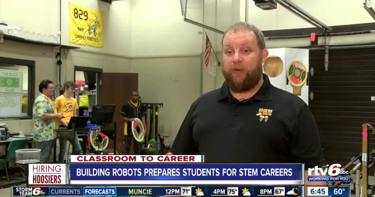 Hiring Hoosiers: Building robots prepares students for STEM careers