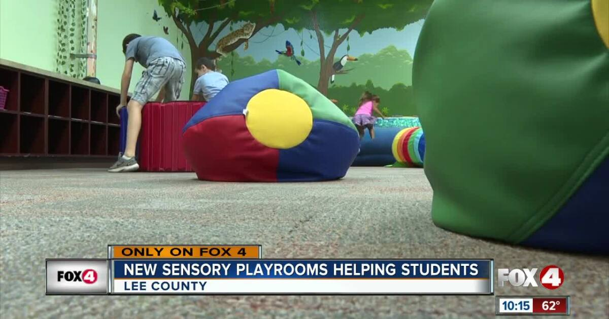 Heights Elementary School opens sensory room