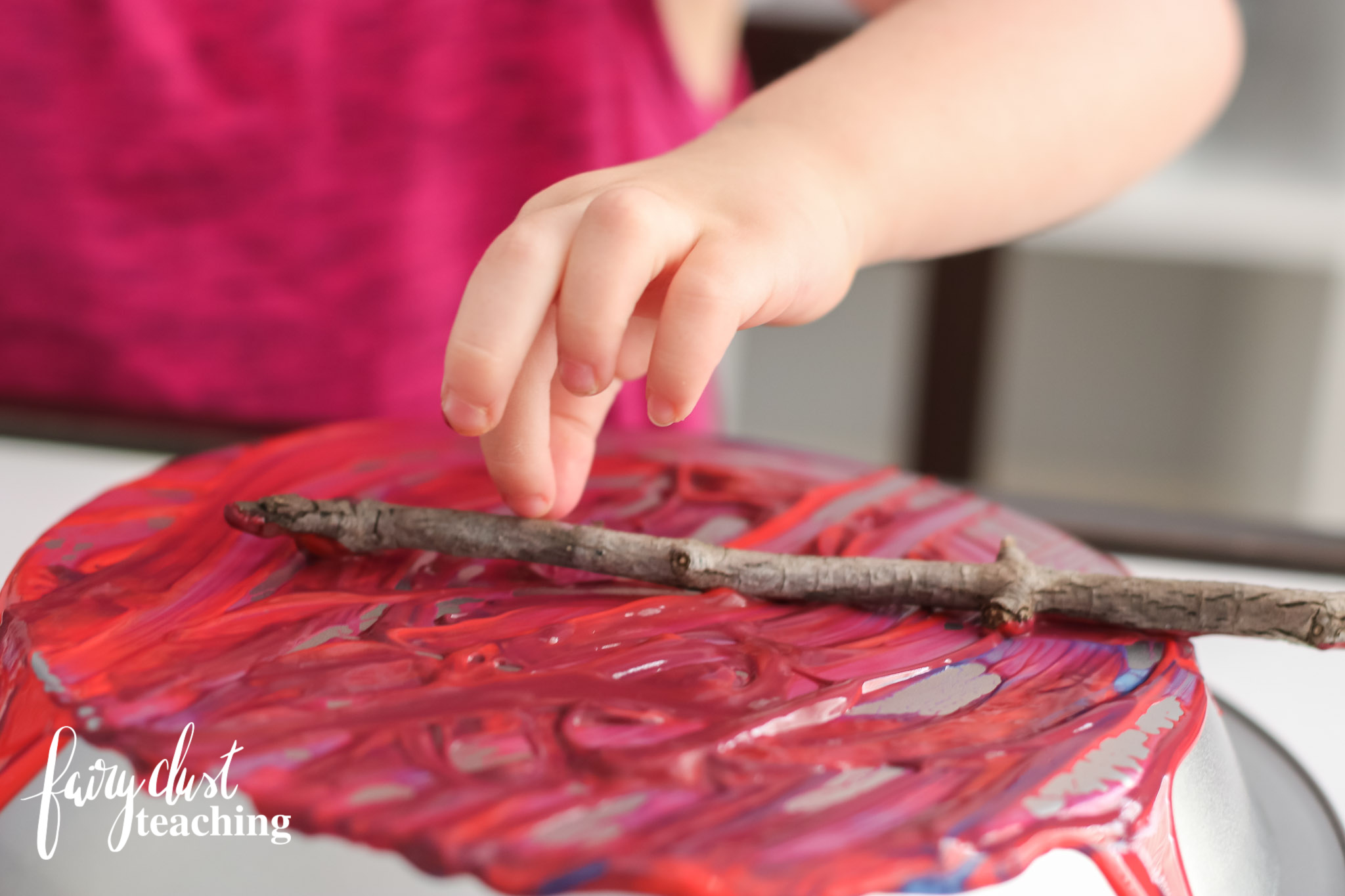 Creative Monoprinting with Loose Parts