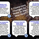 5 Classroom Changes to Make in the New Year!