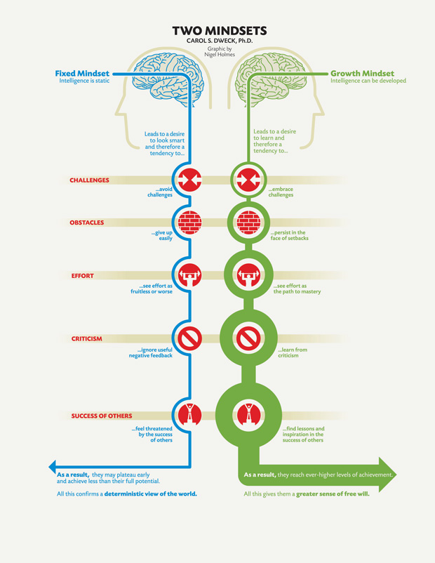 Carol Dweck: A Summary of The Two Mindsets And The Power of Believing That You Can Improve