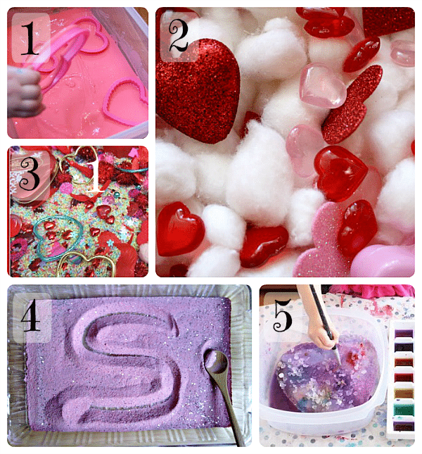 10 Valentine Sensory Activities - Fun-A-Day!
