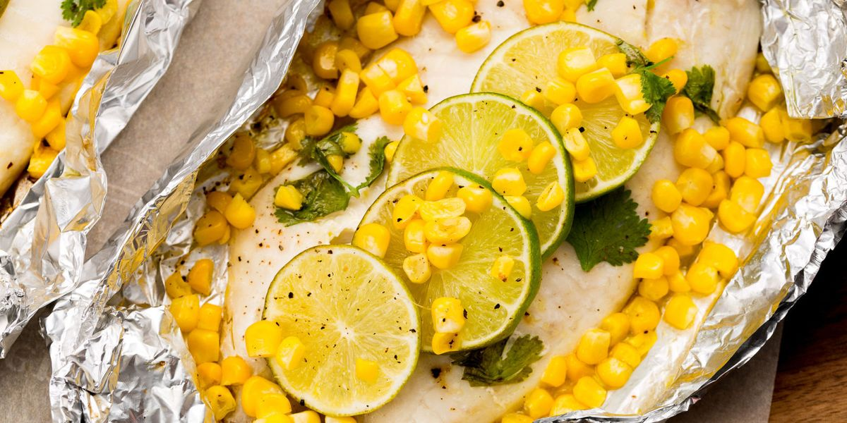 Honey-Lime Tilapia and Corn Foil Pack